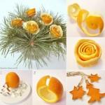 Centrotavola alle arance
