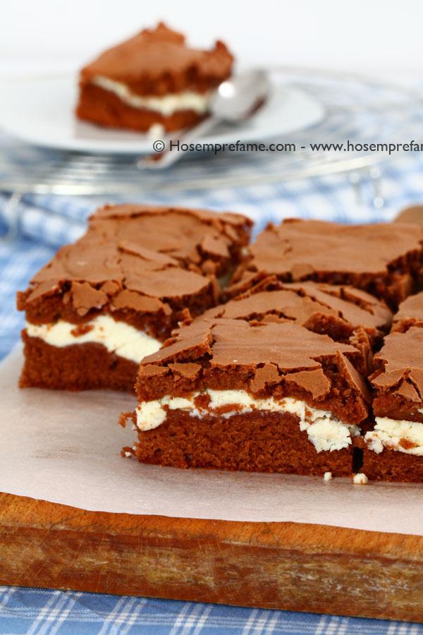 brownie ricotta cioccolato