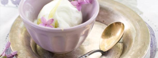 gelato alla lavanda
