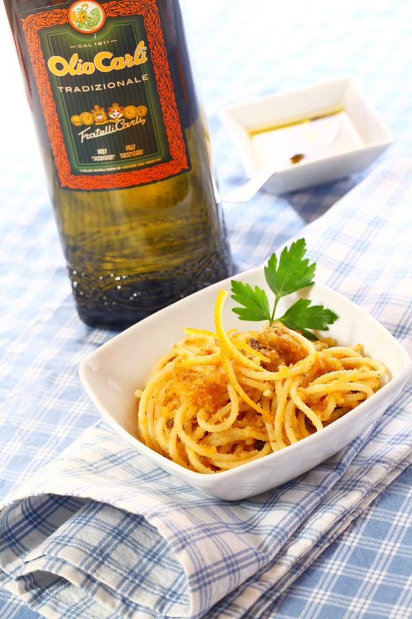 ricetta-spaghetti-arancia-acciughe-olio-carli-ho-semprefame