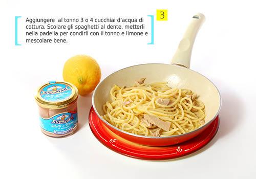 step 3_spaghetti limone tonno
